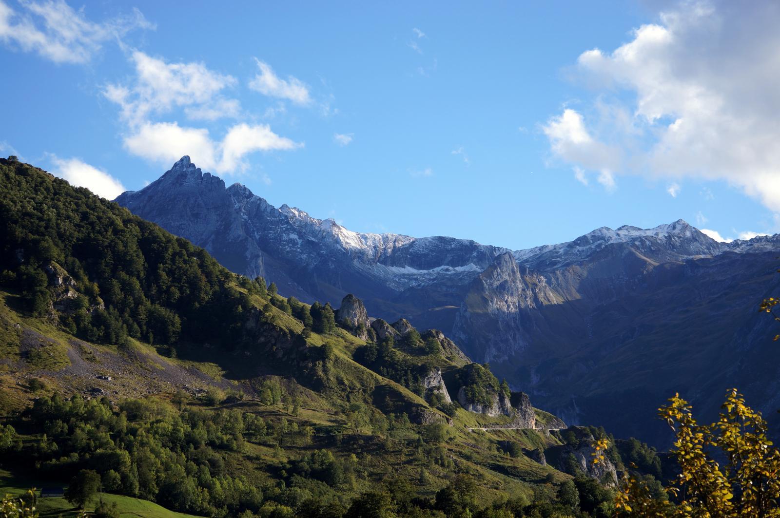 Arrivée sur le Col de Soulor