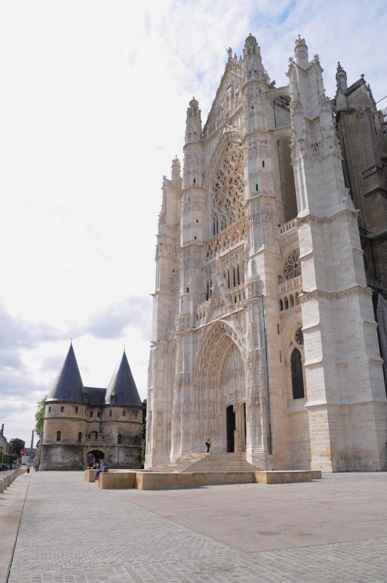 Façade Sud de la Cathédrale de Beauvais