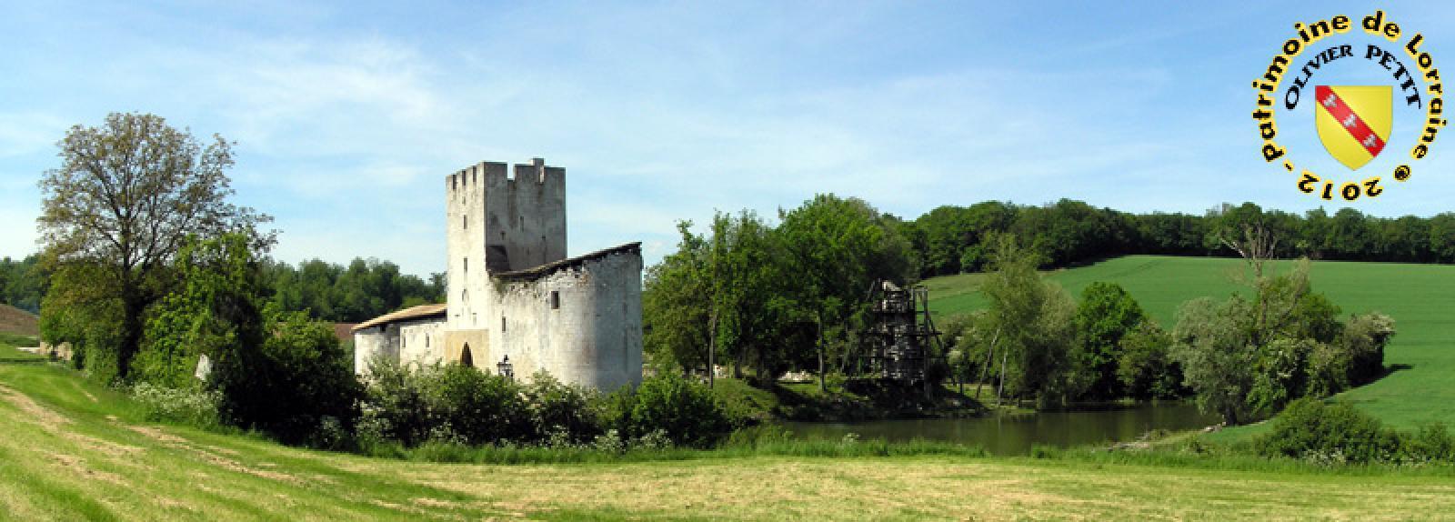 Le chateau de Gombervaux
