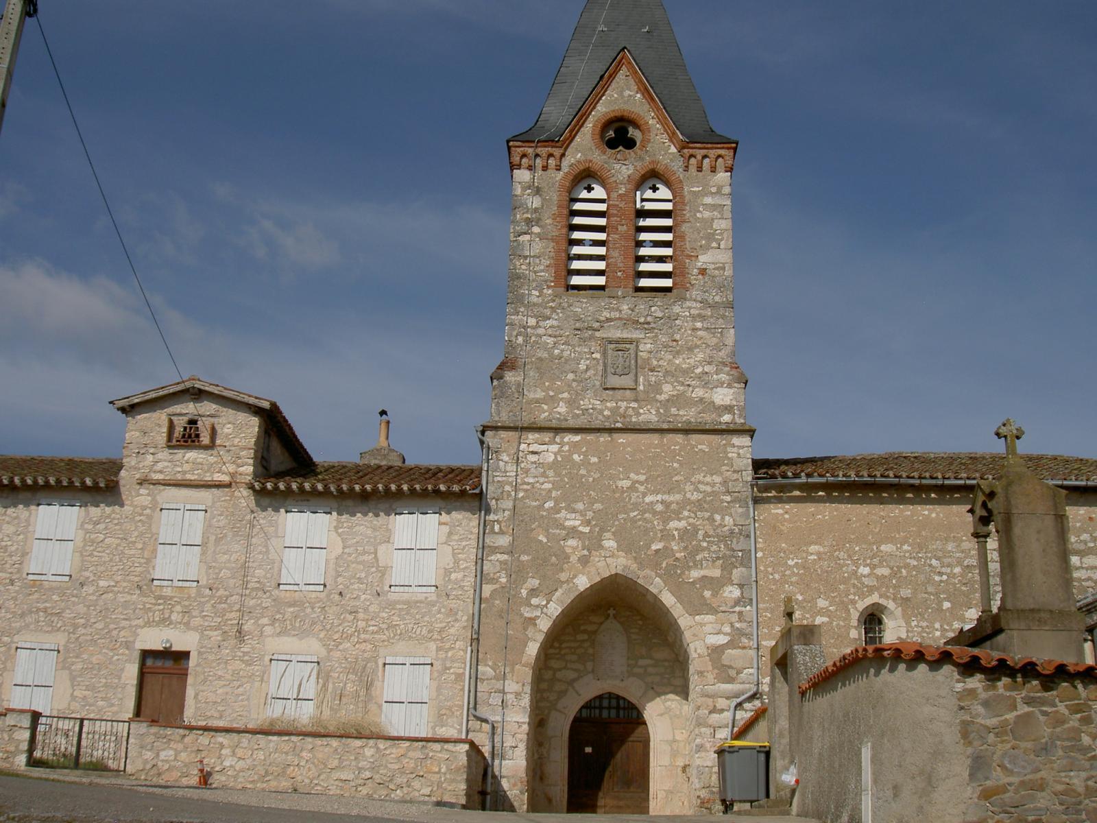 l'Eglise de Pouzounnac