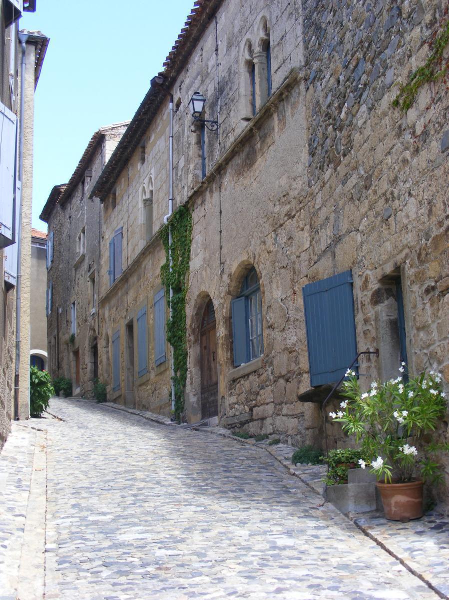 ruelle médiévale de Caunes-Minervois