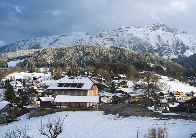 Mont-Saxonnex et le massif du Bargy