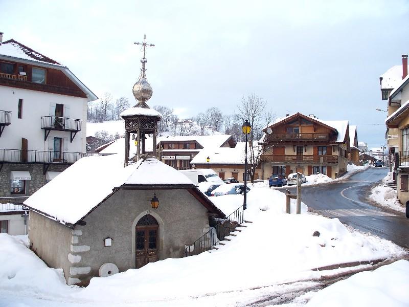 Chapelle de Pincru, à Mont-Saxonnex