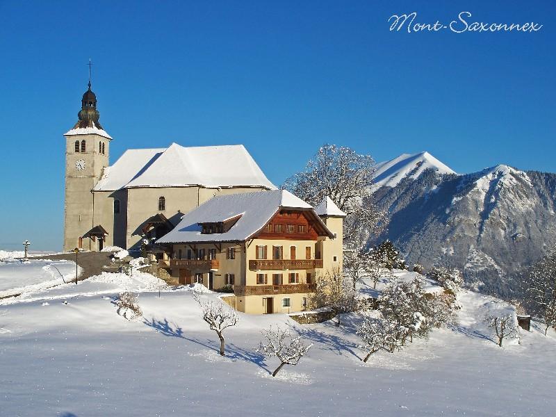 Eglise de Mont-Saxonnex