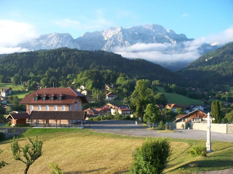 La mairie de Mont-Saxonnex