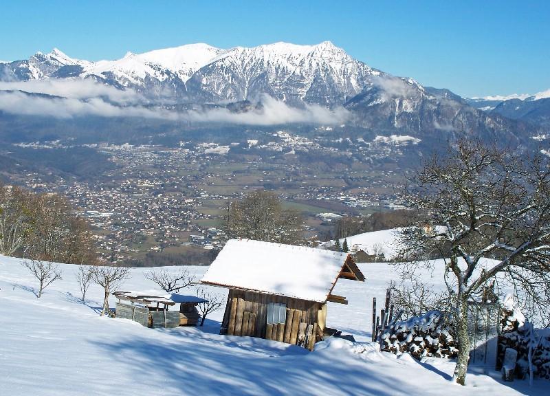 La vallée de l'Arve, depuis Mont-Saxonnex