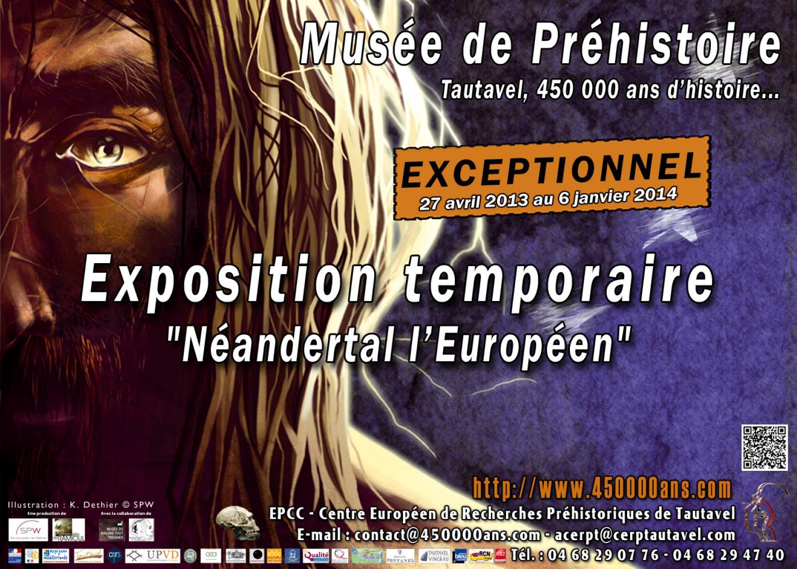 "Exposition ""Neandertal l'Européen"""