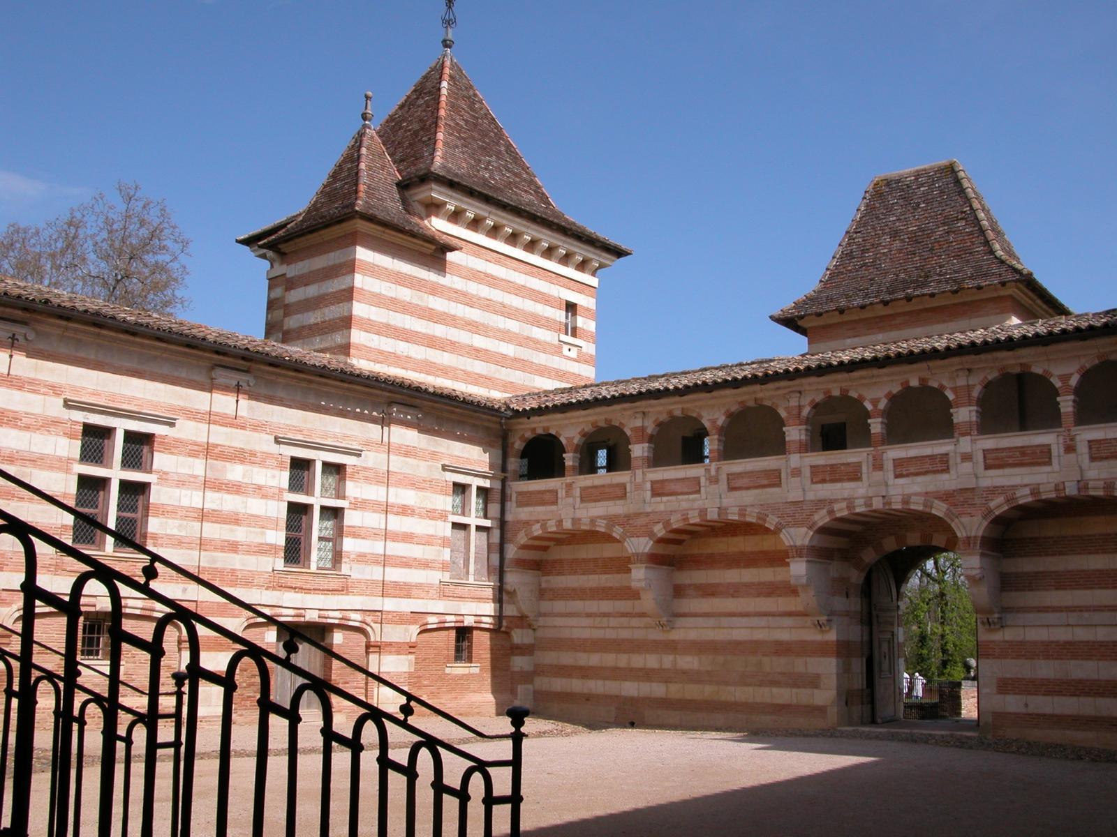 Image : Château de La Réole