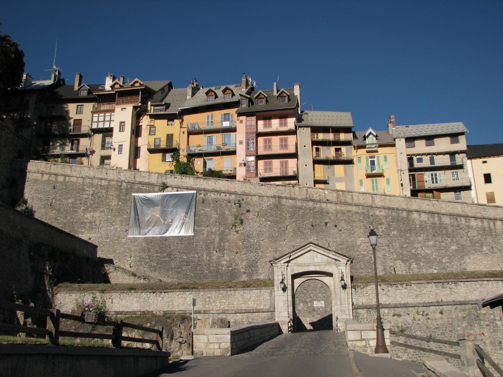 Briançon, porte d'Embrun