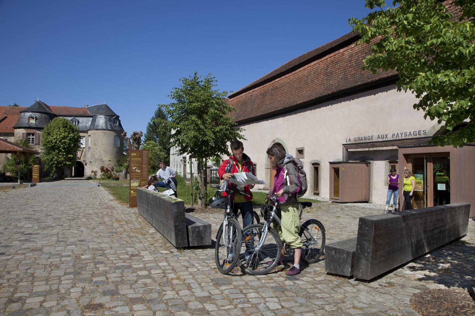 Office de tourisme et Grange aux paysages à Lorentzen