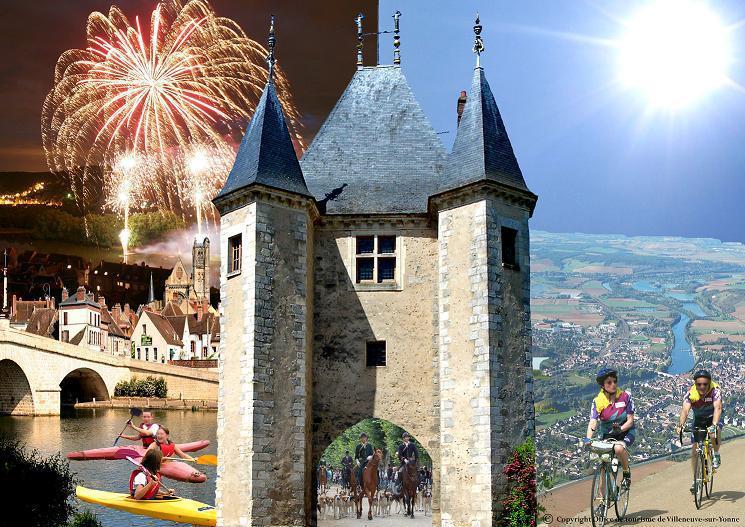 Guide de tourisme par commune villeneuve sur yonne 89 - Office du tourisme villeneuve sur yonne ...
