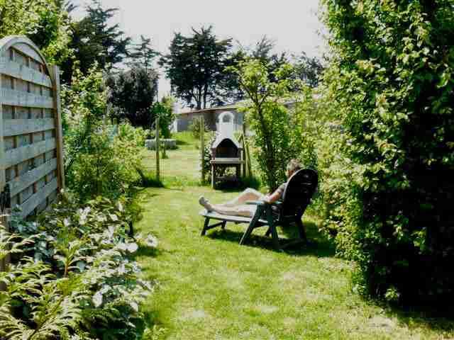 Son petit jardin privatif
