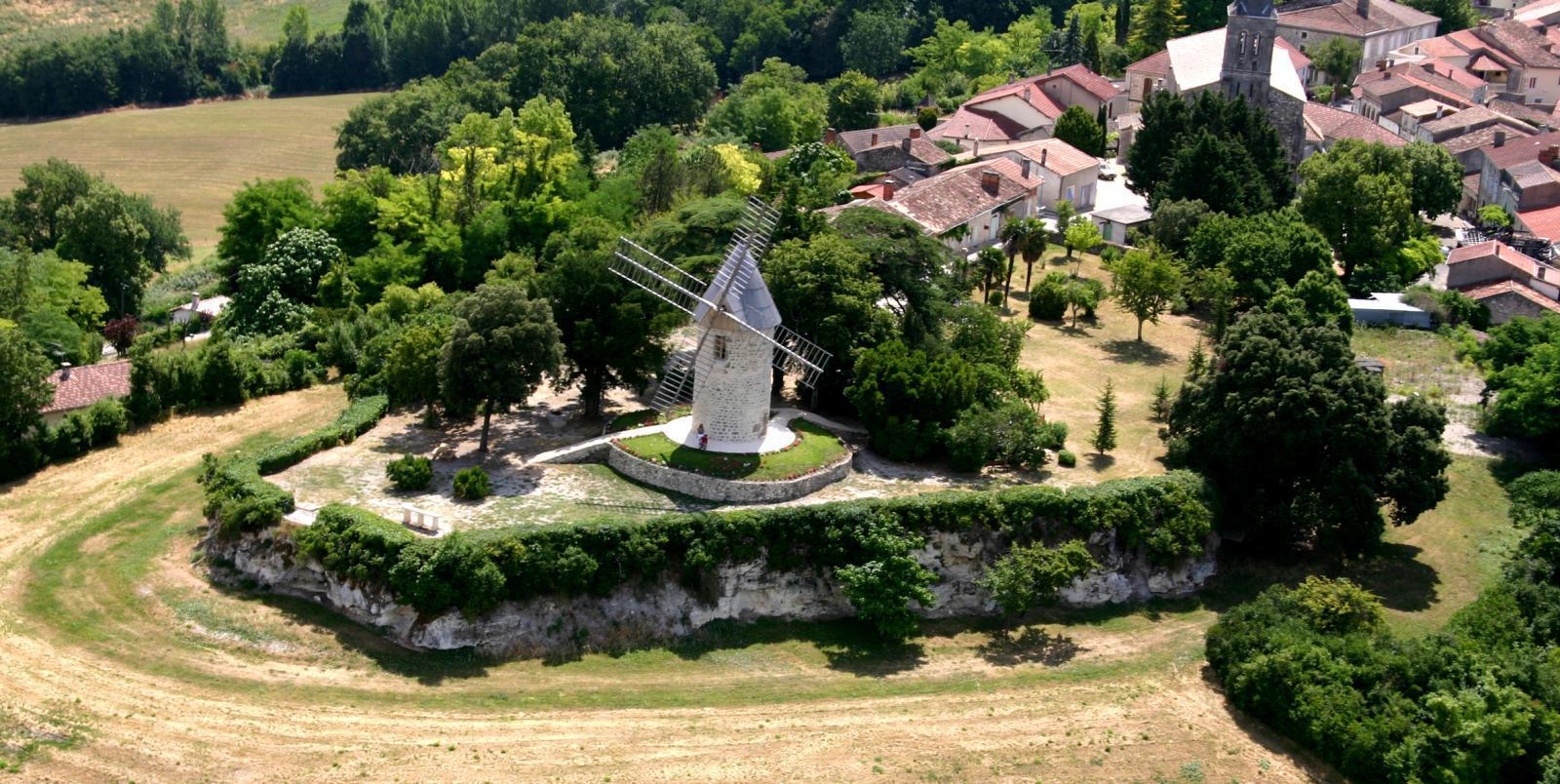 vue du moulin