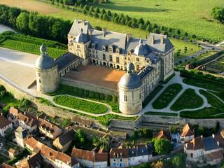 Les châteaux du Périgord vus du Ciel