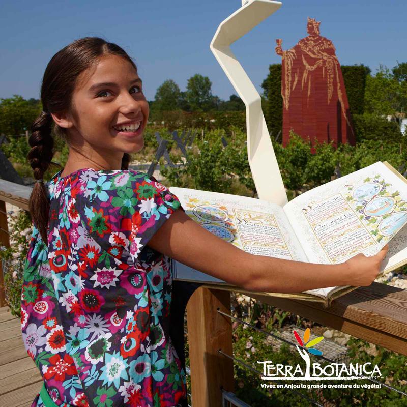 Le parcours du roi René au parc Terra Botanica