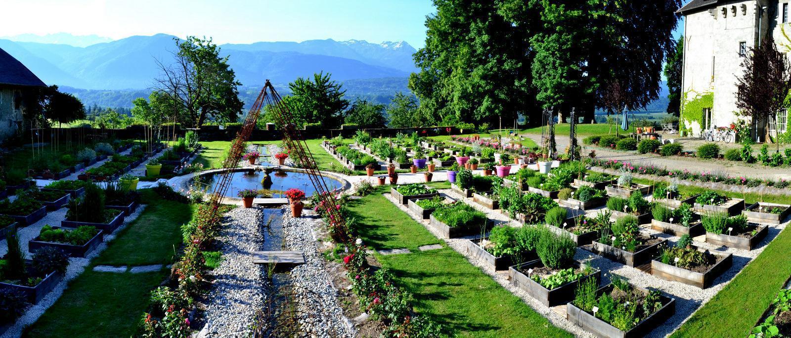 Parcs jardins botaniques arboretums savoie 73 page 2 - Jardin potager bio saint denis ...