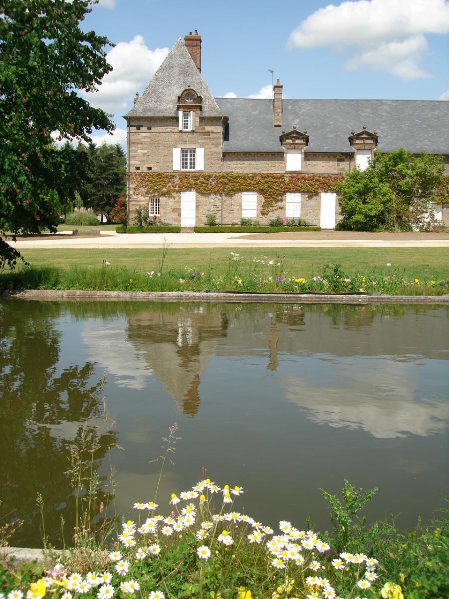 Aile du château des Montgommery