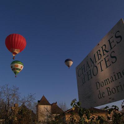 Envolée des montgolfières du Domainde de Borie 2
