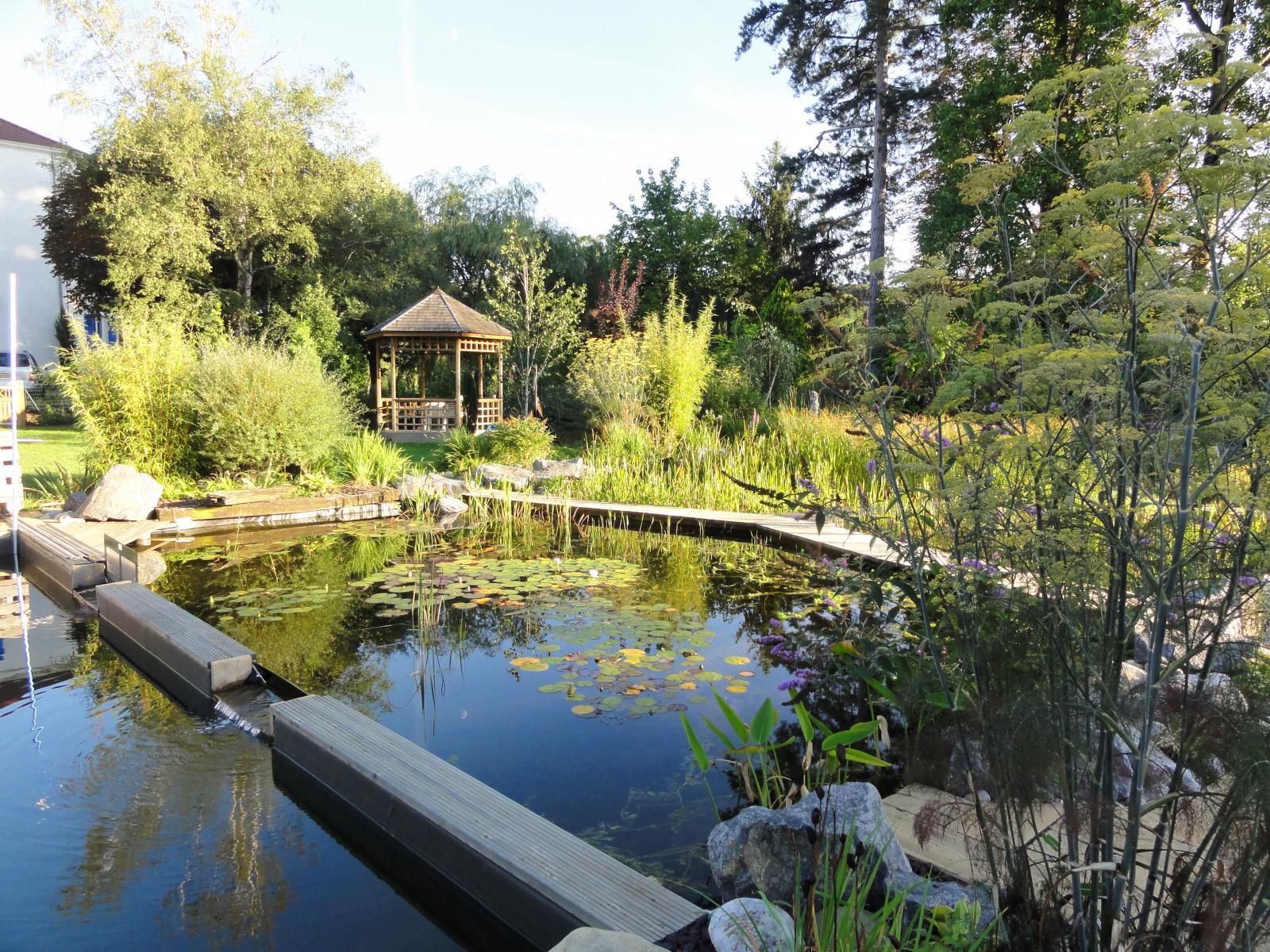 bassin de baignade naturelle