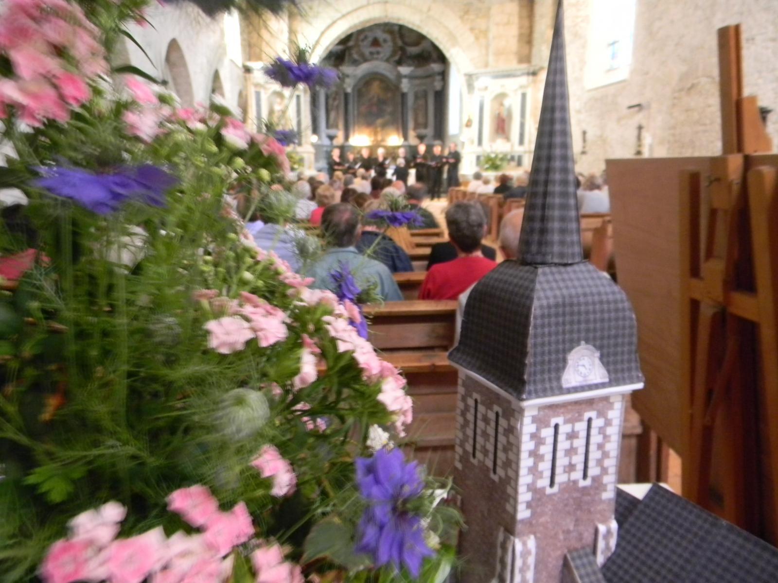 Concert en l'église de Brissarthe