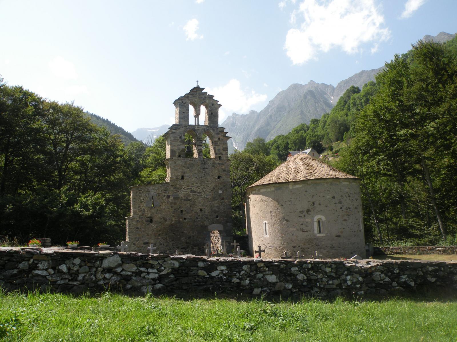 la chapelle des templiers d'Aragnouet