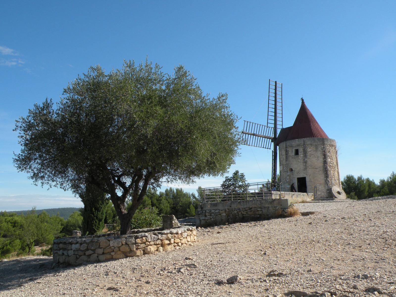 Moulin d 39 alphonse daudet fontvieille 13990 bouches du for Ca bouche du rhone