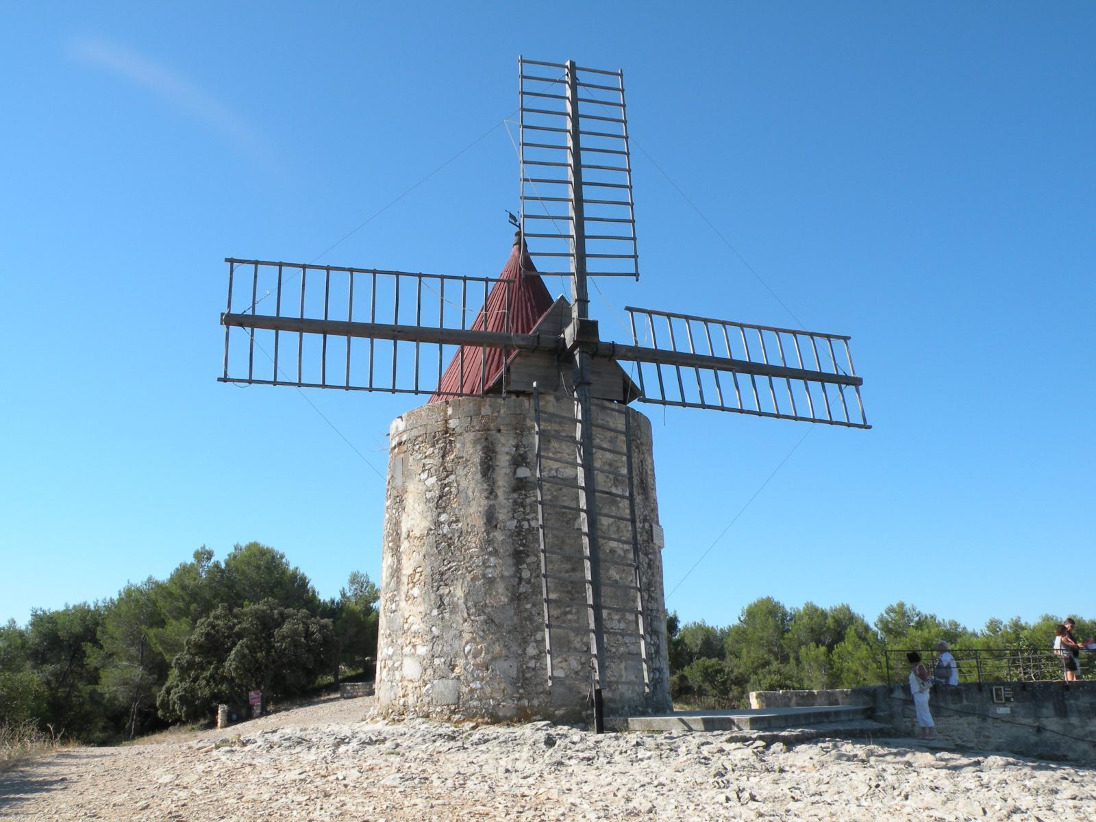 Le moulin d'Alphonse Daudet 2.JPG