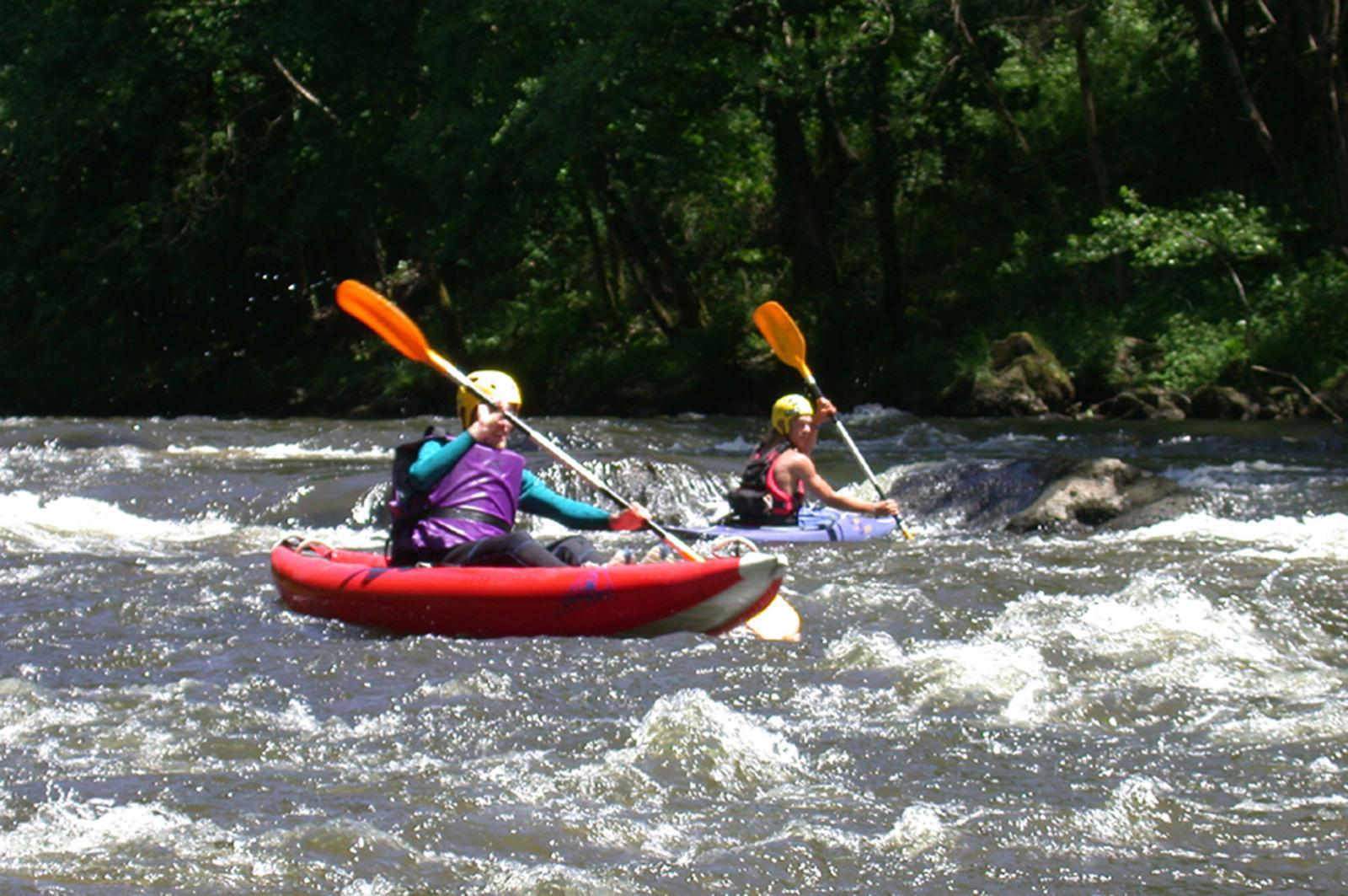 Kayak dans les Gorges de la Vézère