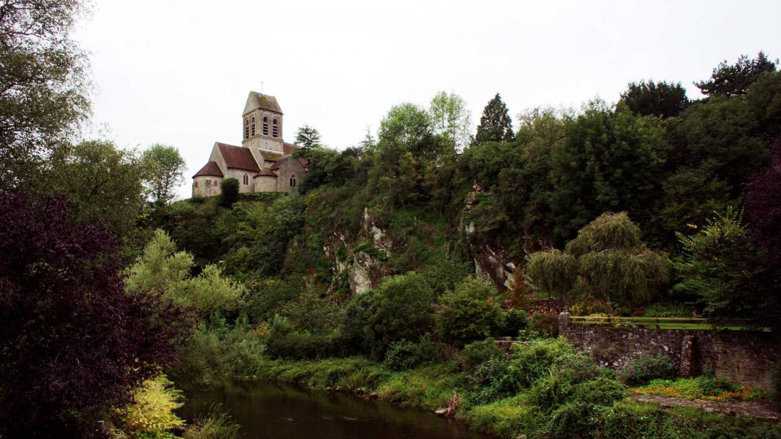 St Céneri - l'église