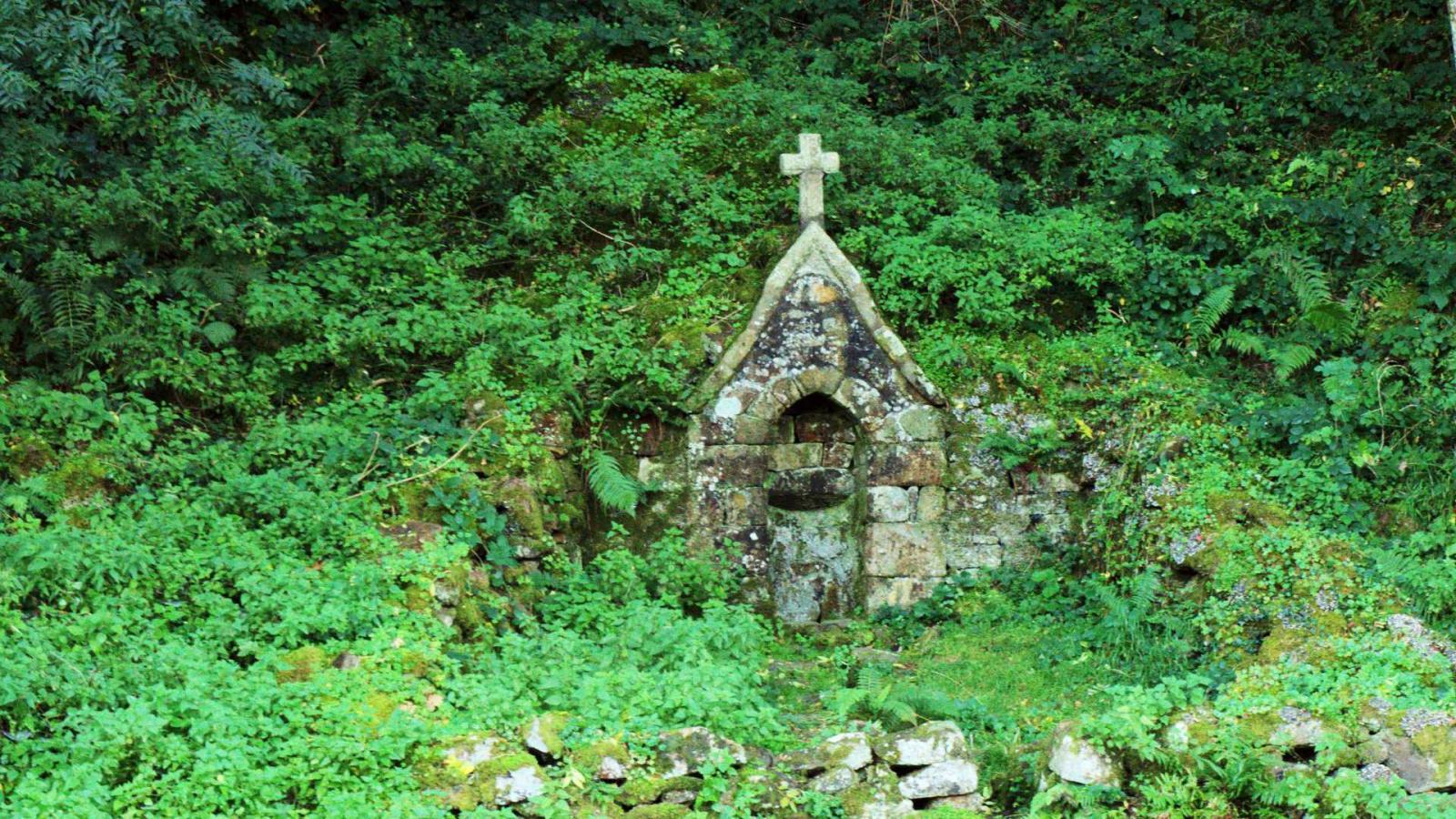 St Céneri - la fontaine